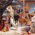 Igazmondás: a vallás negyedik lába A Srímad-Bhágavatamban van egy történet, amelyben Paríksit Mahárája, földünk nagy és igazságos uralkodója találkozik Dharmával, a vallás személyiségével,