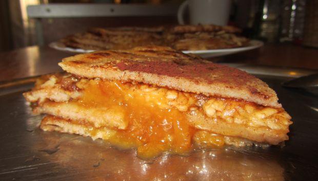 Teljes kiőrlésű tönkölybúza lisztből készít palacsinta torta