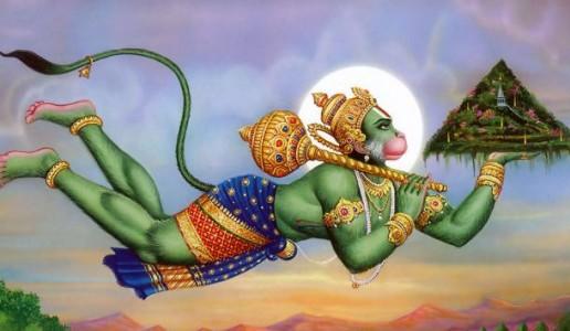 Rāmacandra, Rāma-navamī - Hanuman