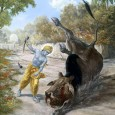 Egy napon Krisna és Balaráma, barátaik társaságában a Govardhan hegy közelében legeltették a teheneket. Mathurában eközben a gonosz Kamsza király kiadta a parancsot Arisztászura démonnak, hogy pusztítsa el esküdt ellenségét, Krisnát. […]