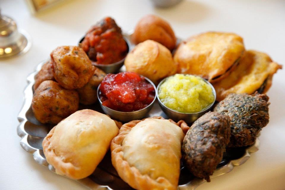 Prasadam - hagyományos menü