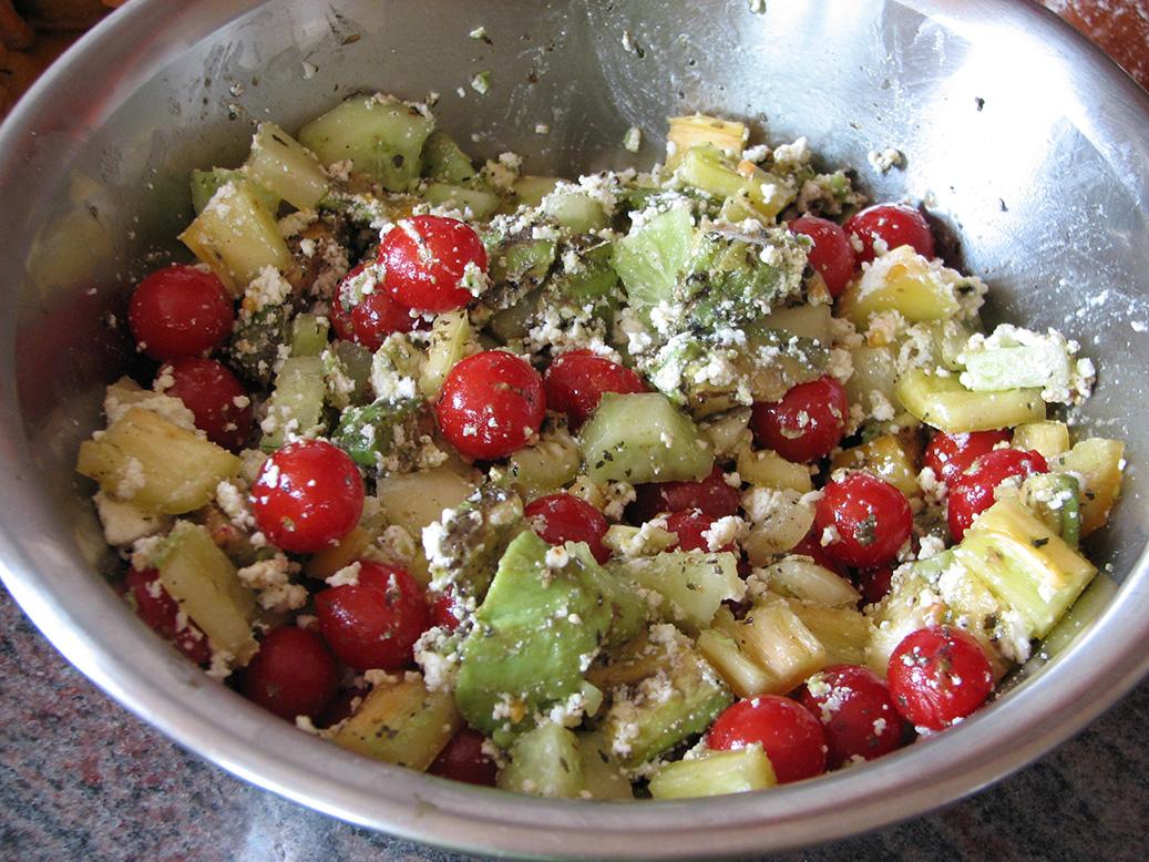 Prasadam - saláta