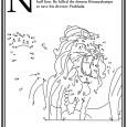 Nyomtasd ki a pontösszekötő ábrát és kösd össze a vonalakat, így a képen megjelenik Úr Krisna félig ember félig oroszlán inkarnációja, az Úr Narasimhadev (ejtsd: Naraszimhadéva). A történet szerint Krisna ebben […]