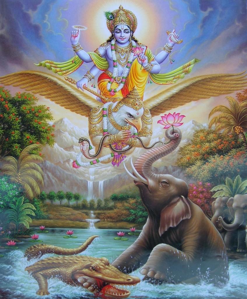 gajendra-offers-prayers