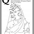Nyomtasd ki a pontösszekötő ábrát és kösd össze a vonalakat, így a képen megjelenik Kunti dévi aki a hős Pándavák szerető anyukája. Színezd ki az ábrát!
