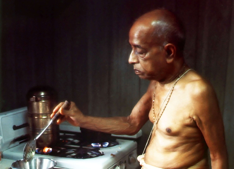 Prabhupada-cooking