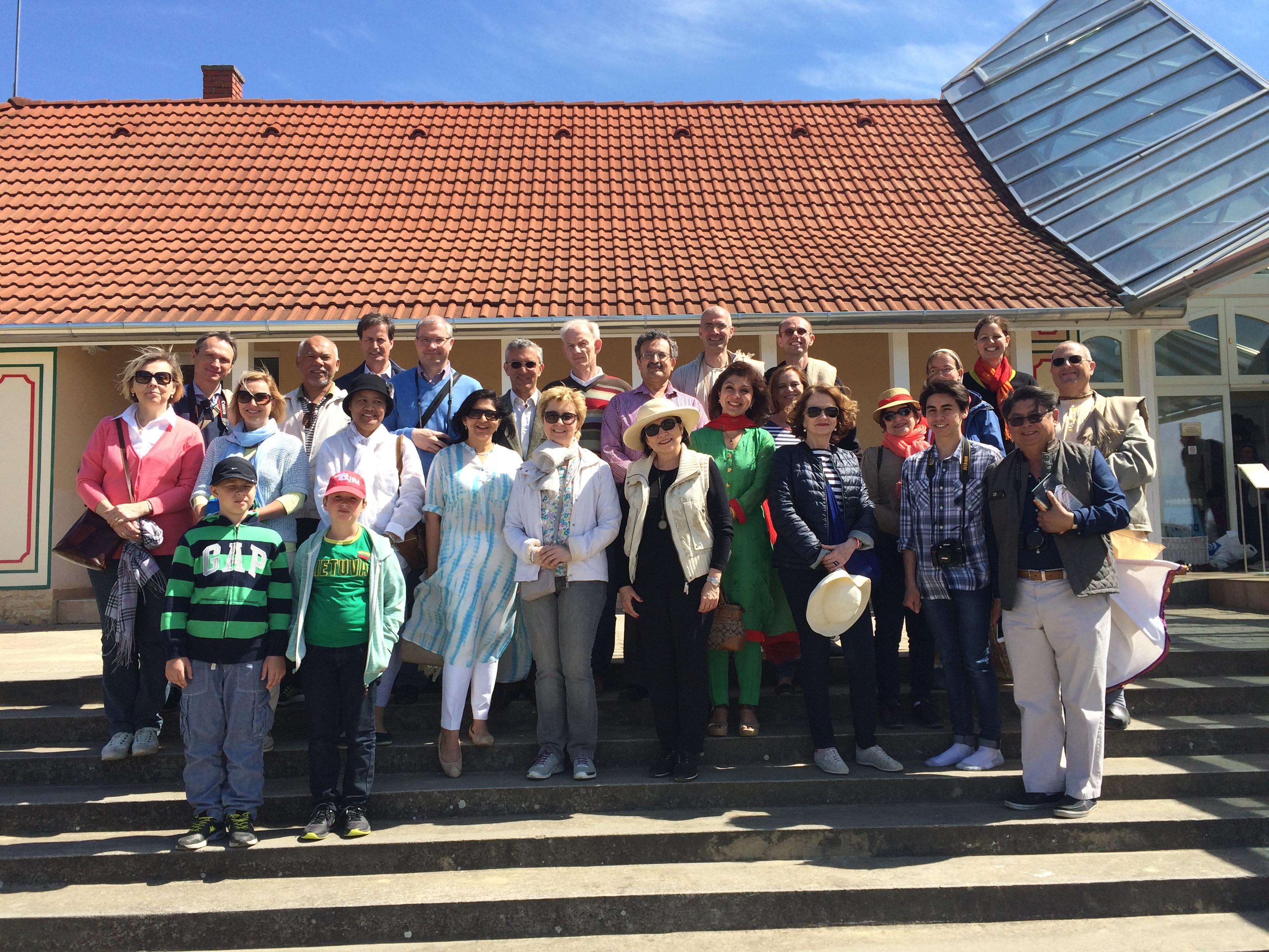 Diplomaták látogatása