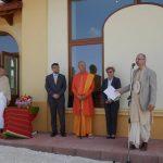 Krisna-völgy, új iskolaépület átadása