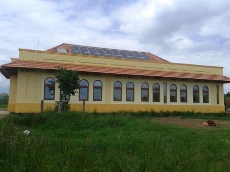 Új iskolaépület, gurukula