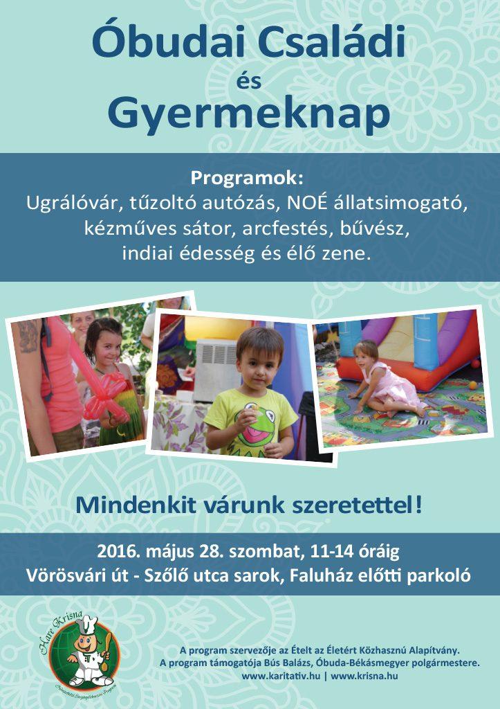 Gyermeknap Óbuda 2016