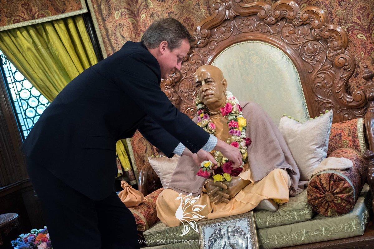 David Cameron - Srila Prabhupadanal
