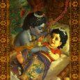 A Purānákban az alábbi történetet találhatjuk Srīmati Rādhārāni megjelenését illetően. Egy nap Vṛṣabhānu Mahārāja, aki akkoriban Ravelben lakott, dél környékén a Yamunā partjára ment, hogy déli fürdőt vegyen. Ahogy egyre közelebb […]