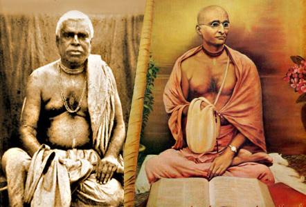 Bhaktivinoda Thakur és Bhaktisiddhanta Sarasvati Thakura