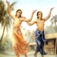 """""""NaroṭṭamadāsaThākuraígy énekelt: ahaṅkāremattahañā,nitāi–padapāsariyā, asatyeresatyakarimāni Az ember amiatt, hogy megfeledkezik az ÚrNityānandalótuszlábáról, és anyagi tulajdona, vagyona és gazdagsága felfuvalkodottá teszi, azt gondolja, hogy az illuzórikus, ideiglenes anyagi világ valóságos. Ez az anyagi […]"""