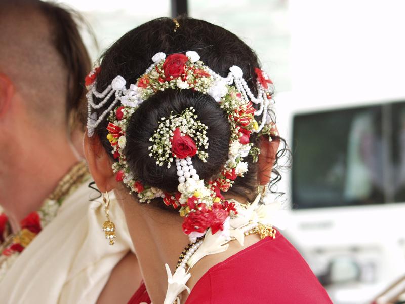Esküvő - konty