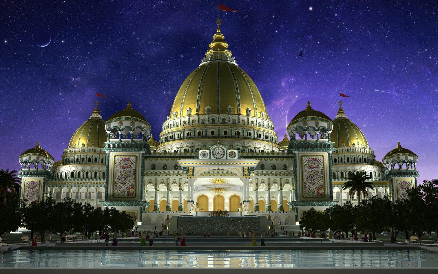Temple of the Vedic Planetarium - Sri Mayapura Dhama