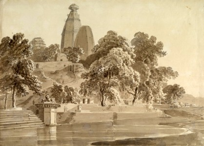 Madan_Mohan_temple,_on_the_Yamuna,_Vrindavan,_1789