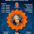 Szeretettel meghívunk a 2014. augusztus 9-én, szombaton megrendezésre kerülő fesztiválra, melyet Úr Balarama megjelenési napja alkalmából rendezünk! A fesztivál egyben az egri pada yatra (vándor, zarándok-fesztivál) záró eseménye is lesz. Ez […]