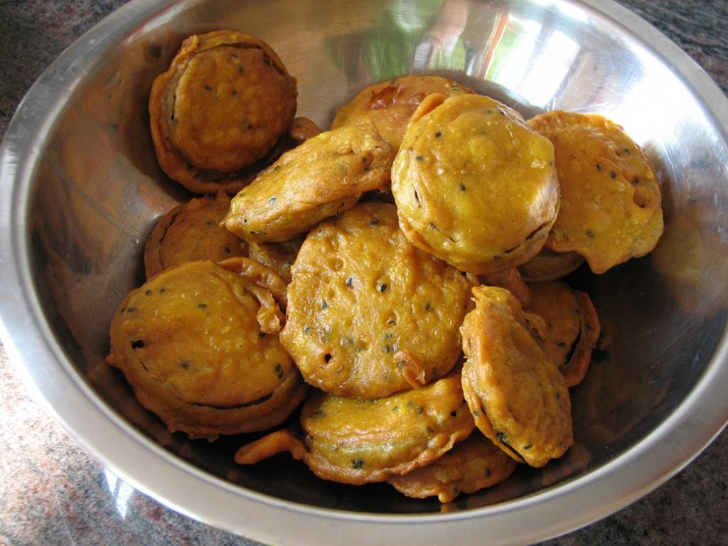 Prasadam- pakóra - zöldségek bundában