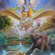 Volt egyszer egy nagy király, akit Húhúnak hívtak, és a Gandharvák, mennyei lények bolygóján uralkodott. Egy napon, amikor udvarhölgyei társaságát élvezte a folyóban, kedvteléseibe merülve véletlenül meglökte a nagyhatalmú szent, Dévala […]