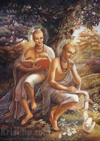Srila Rupa and Sanatana Goswamis