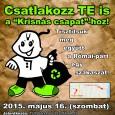 """Egyházunk a """"Környezetvédelem Éve"""" égisze alatt május 16-án csatlakozik az 5.TeSzedd! – Önkéntesen a Tiszta Magyarországért nemzetközi hulladékgyűjtési akcióhoz. A TeSzedd! egy nemzetközi civil környezetvédelmi megmozdulás, mely évente több tízezer résztvevőt […]"""