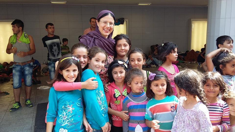 Menekült gyermekek