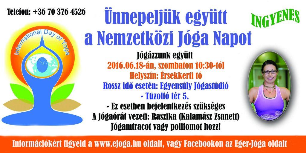 Nemzetközi Jóga Nap - Eger